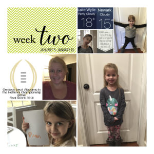 Project Life 2017-Week 2